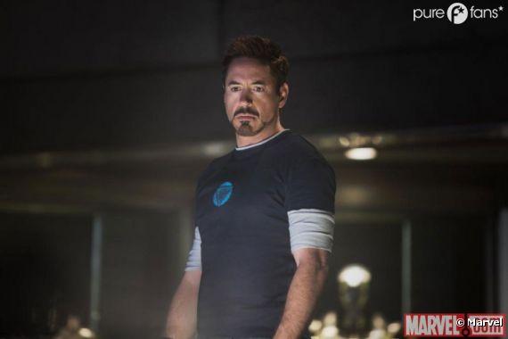 Tony Stark semble dépité dans Iron Man 3