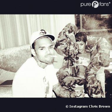 Rihanna et Chris Brown se prennent pour les stars du monde !