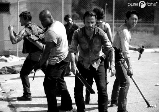 The Walking Dead bientôt en noir et blanc
