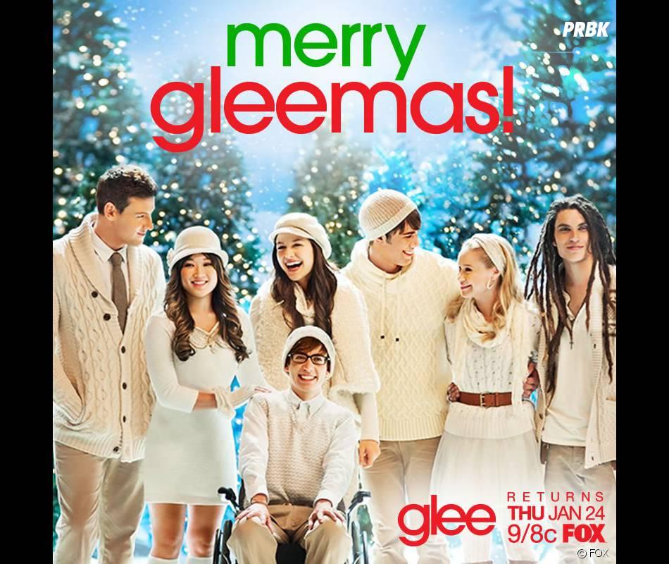 Bonnes vacances de la part de Glee
