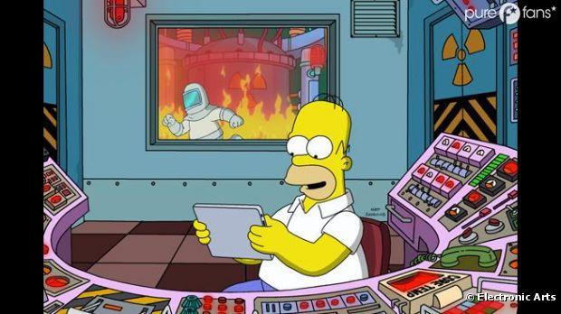 Les Simpson est un jeu vraiment fun