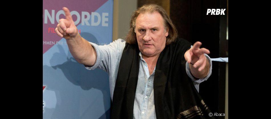 Gérard Depardieu toujours au centre des polémiques !