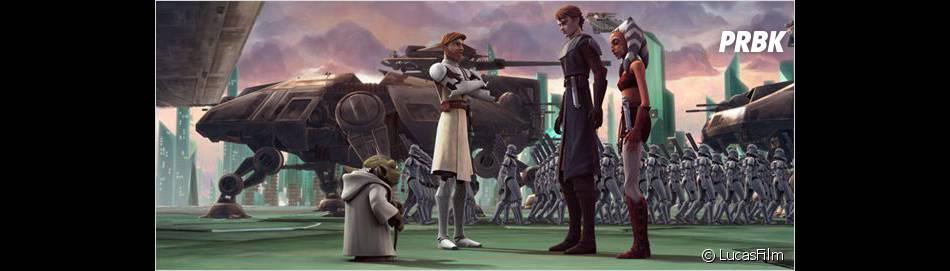 Après le dessin animé Star Wars, bientôt la série live