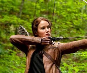 Jennifer joue Katniss dans Hunger Games