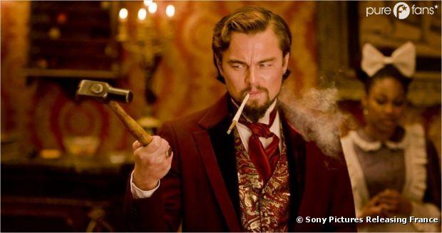 Leonardo DiCaprio arrive au ciné dans Django Unchained