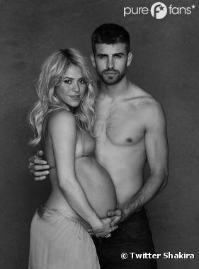 Shakira et Gérard Piqué se dénudent pour l'UNICEF