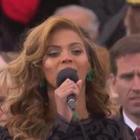 Beyoncé en playback sur son hymne émouvant pour Obama ?