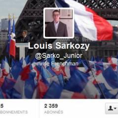 Louis Sarkozy sur Twitter : déjà aussi accro que Nikos Aliagas