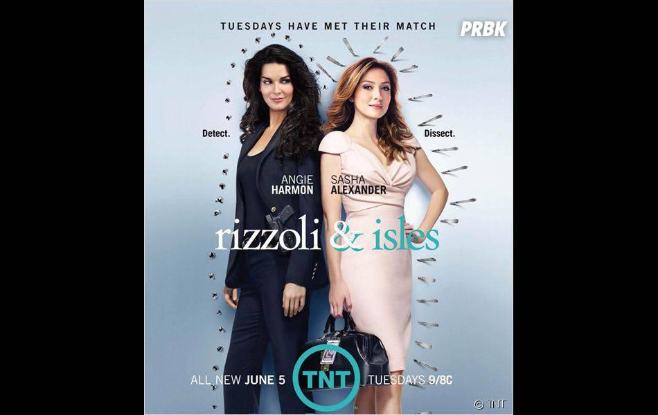 La saison 1 de Rizzoli & Isles arrive bientôt sur France 2