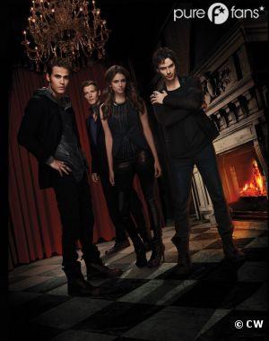 Vampire Diaries renouvelée pour une saison 5 par la CW