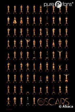 La magnifique affiche des Oscars 2013