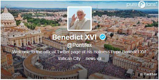 Benoît XVI a débarqué sur Twitter en 2012