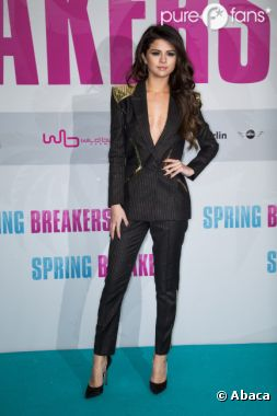 Selena Gomez, un vrai canon à Berlin pour l'avant-première de Spring Breakers