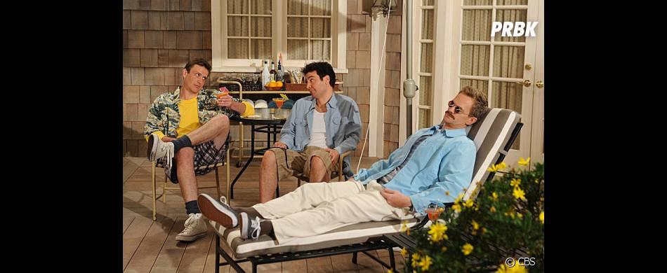 Ted, Barney et Marshall façon années 80