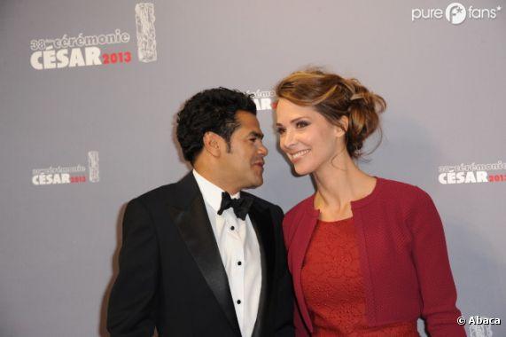 Jamel Debbouze et Melissa Theuriau sous le signe de l'amour aux Césars 2013