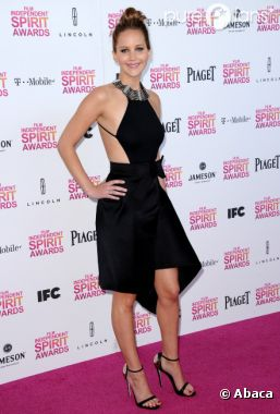 Jennifer Lawrence, canon aux Spirit Awards 2013