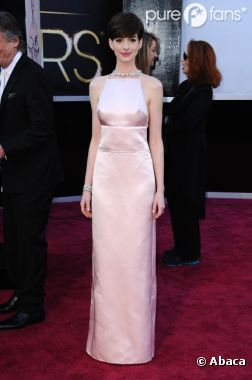 Anne Hathaway a fait le buzz pendant les Oscars 2013