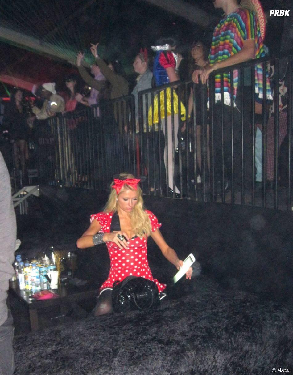 Paris Hilton a deserté les clubs new-yorkais