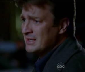 Nathan Fillion fait dans l'éomtion dans la première partie du double épisode de la saison 5 de Castle