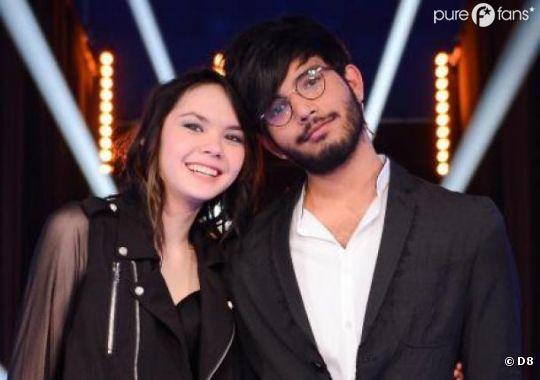 Florian et Sophie-Tith, finalistes de la saison 9 de Nouvelle Star