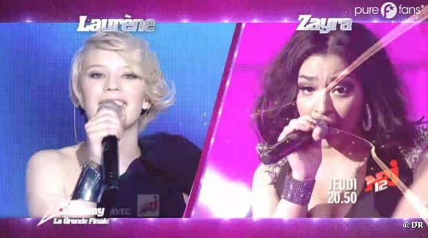 Qui de Lorène ou Zayra remportera la grande finale de la Star Academy 2013 ?