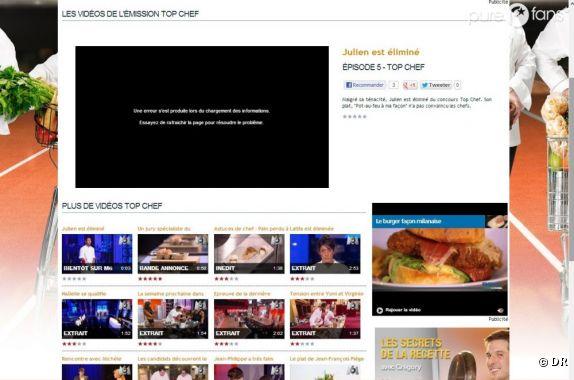 M6 publie trop tôt la news de l'élimination de Julien dans Top Chef 2013