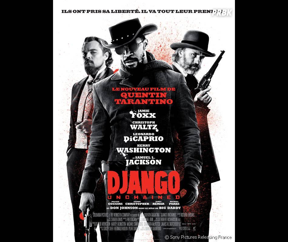 Django Unchained nommé 7 fois aux MTV Movie Awards 2013