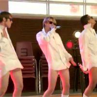 Glee saison 4 : les garçons sans pantalon dans l'épisode 15