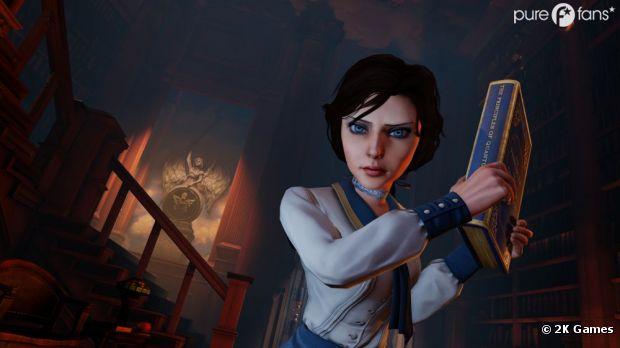 Elizabeth, l'un des personnages centraux de Bioshock Infinite sur Xbox 360, PS3 et PC