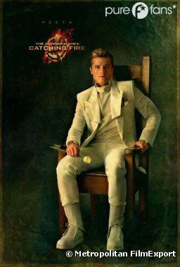 Peeta sur un nouveau poster d'Hunger Games 2