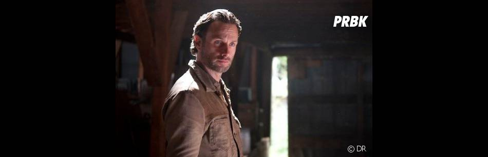 Rick face au Gouverneur dans The Walking Dead