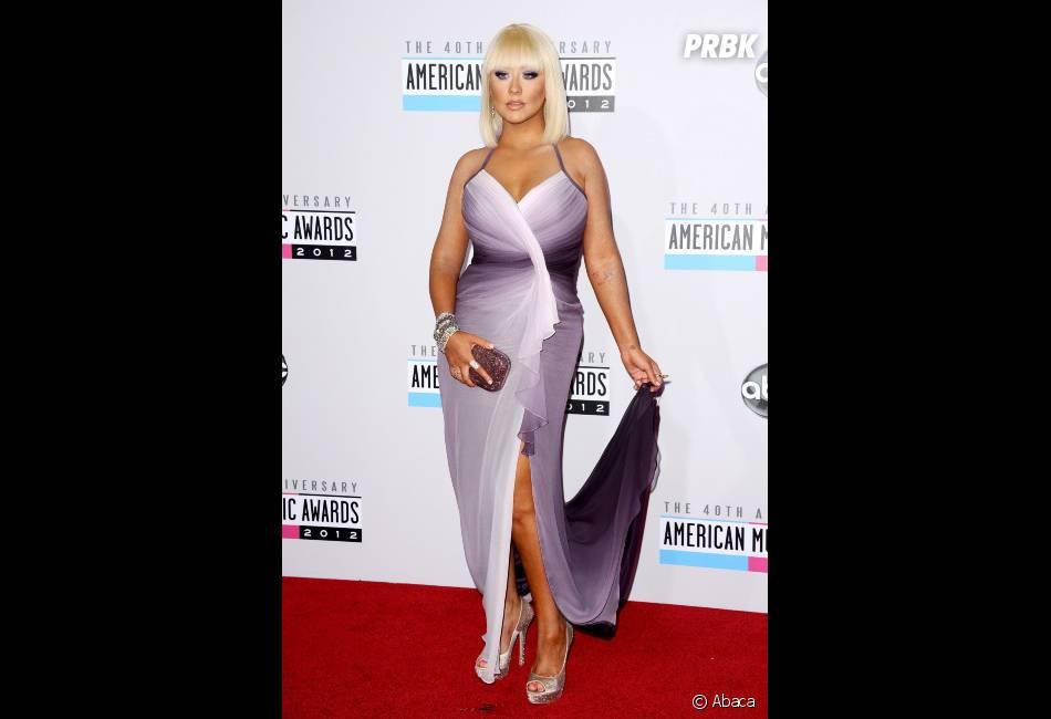 Christina Aguilera, méconnaissable aux American Music Awards 2012