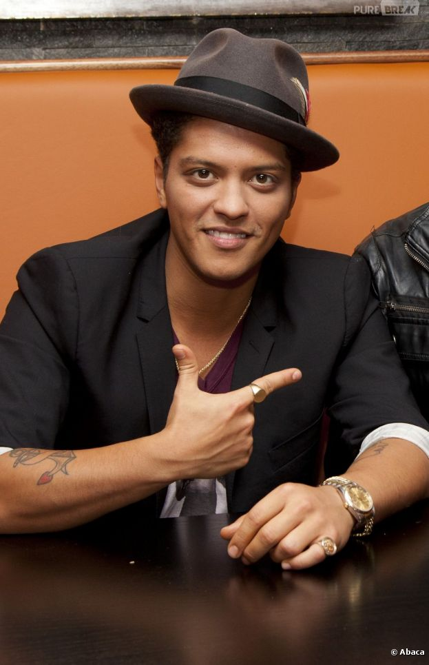 Bruno Mars avait été arrêté en 2010 avec près de 3 grammes de cocaïne