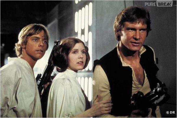 Le trio des anciens Star Wars dans un parc à thème ?