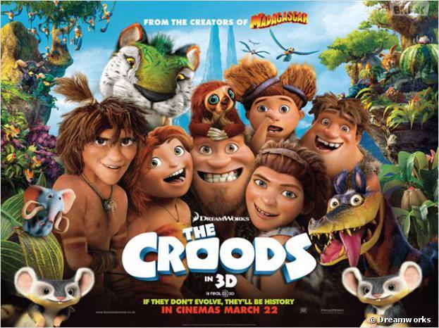 Les Croods est actuellement au cinéma