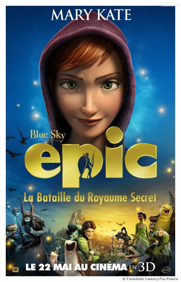 L'affiche de Mary Kate dans Epic, la bataille du Royaume secret