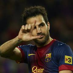 Cesc Fabregas : le joueur du Barça papa... pendant le match contre le PSG