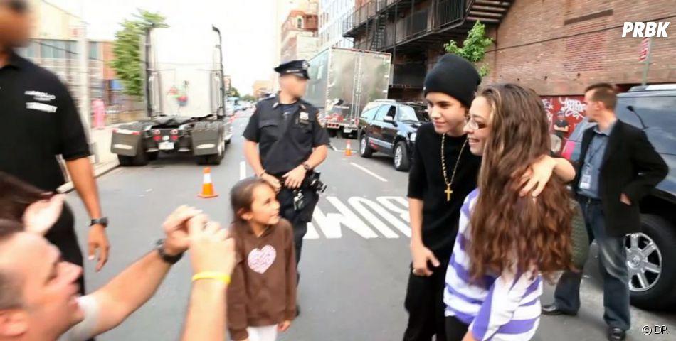Justin est proche de ses fans