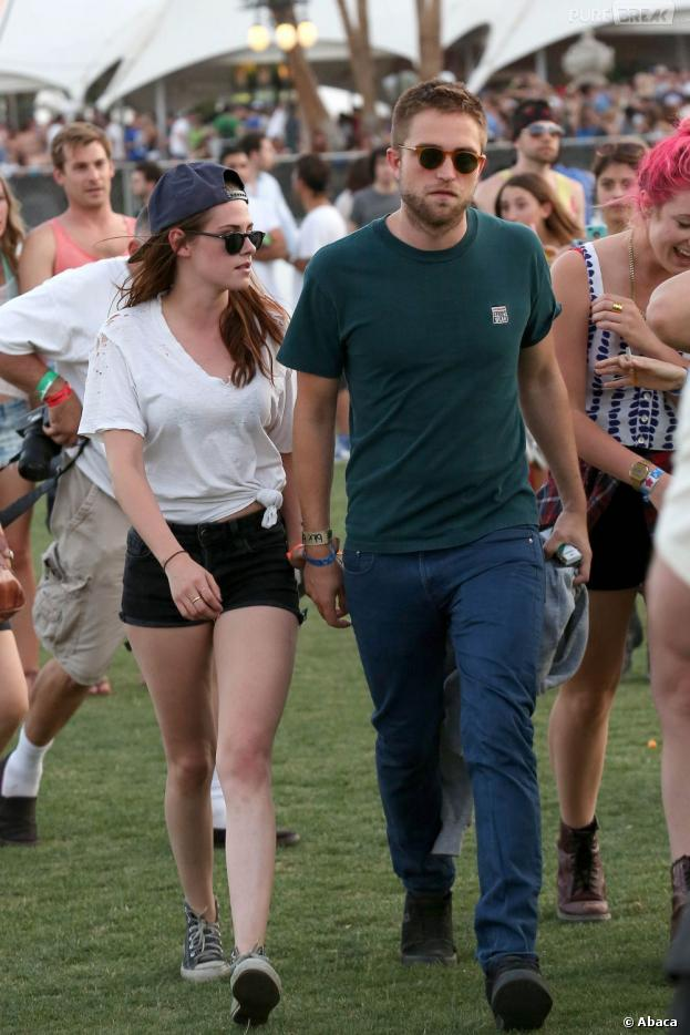 Robert Pattinson et Kristen Stewart, Coachella 12-14 avril 2013