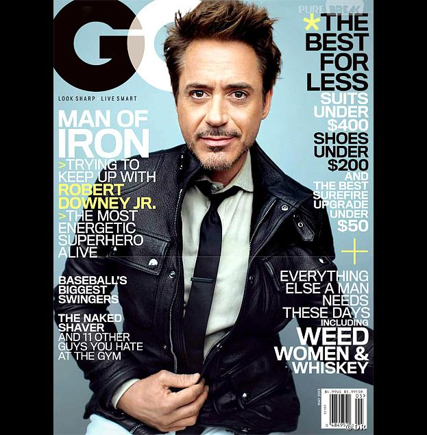 Robert Downey Jr se livre à GQ
