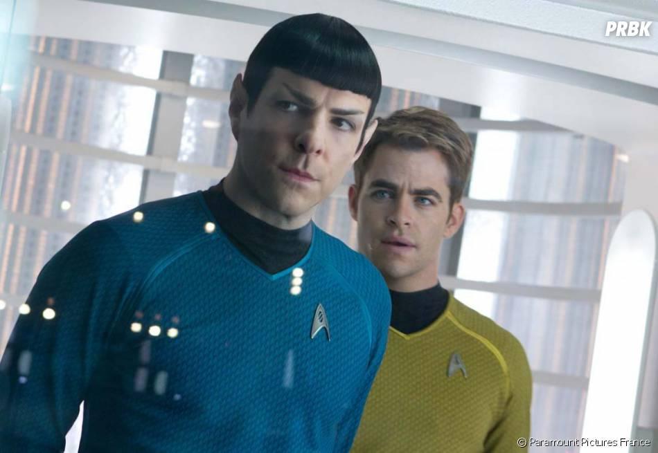 Kirk et Spock ne vont pas rigoler dans Star Trek Into Darkness
