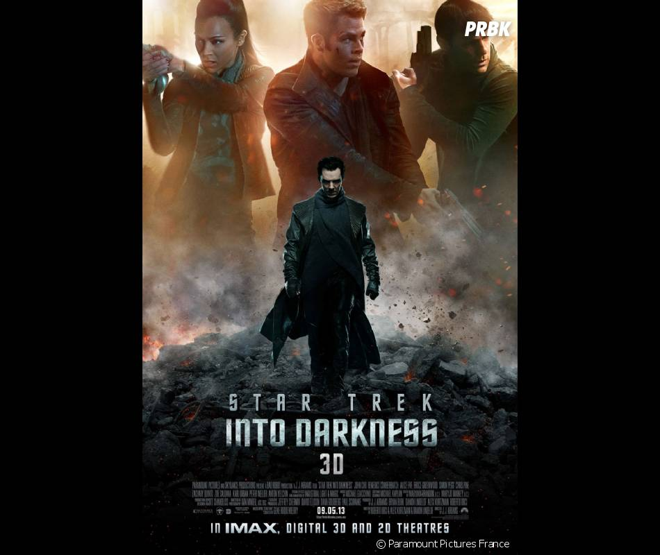 Benedict Cumberbatch, incroyable dans Star Trek Into Darkness