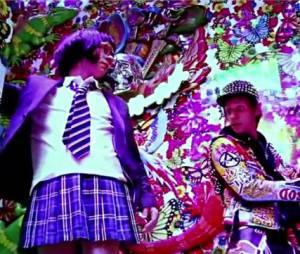 Un clip coloré pour Panic Station de Muse