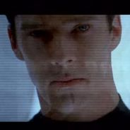 Star Trek Into Darkness : Benedict Cumberbatch menaçant et Spock au coeur d'un volcan
