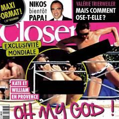 Kate Middleton seins nus dans Closer : trois mises en examen