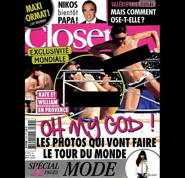 Deux personnes mises en examen dans l'affaire des photos seins nus de Kate Middleton