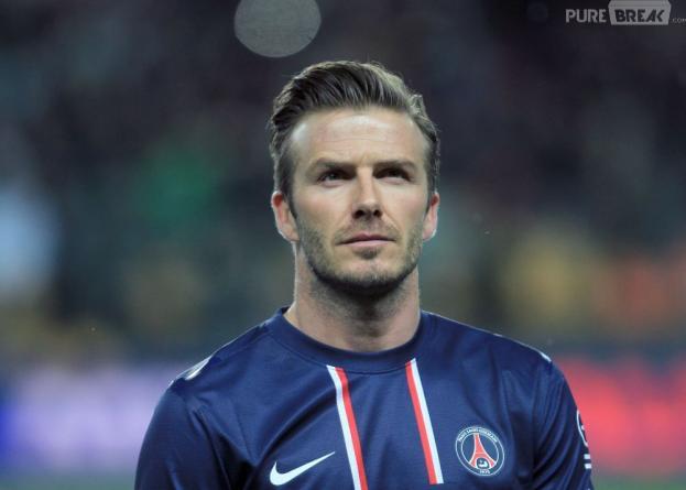 David Beckham est un papa-poule