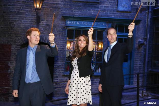 Kate Middleton et les princes Harry et William retombent en enfance