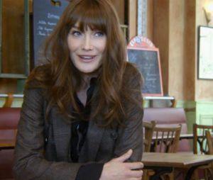 Carla Bruni dans le clip de son titre Mon Raymond