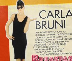Carla Bruni se la joue Audrey Hepburn dans le clip de Mon Raymond